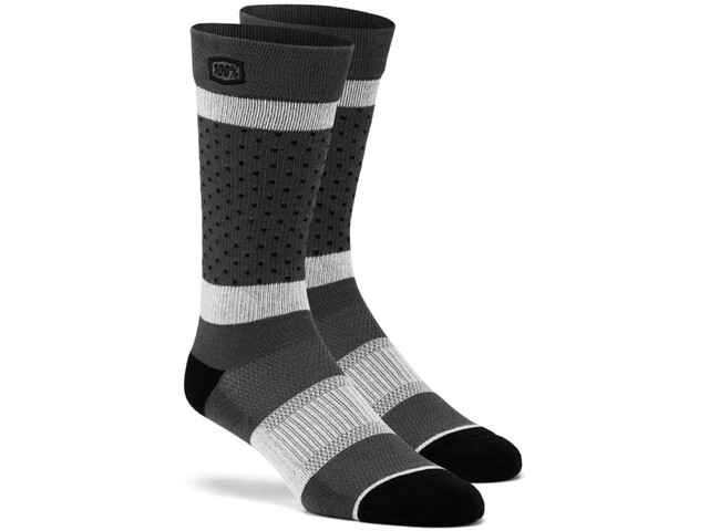 100% Opposition Chaussettes, grey
